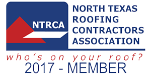 Member of North Texas Roofing Contractors Association Since 2008.